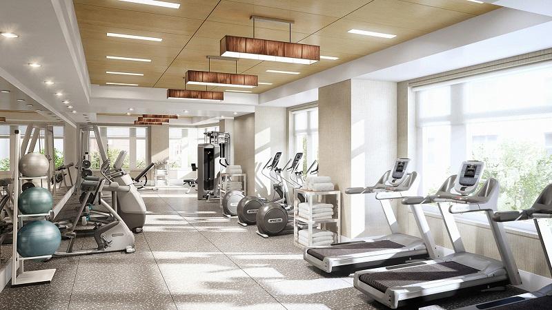 gym chung cư hoàng cầu slkyline
