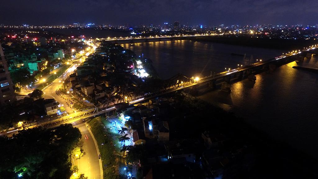 View cầu Long Biên và Chương Dương