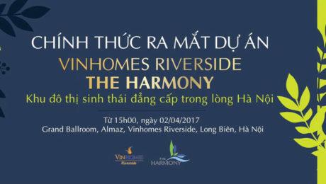 Ra mắt chính thức Vinhomes Riverside The Harmony