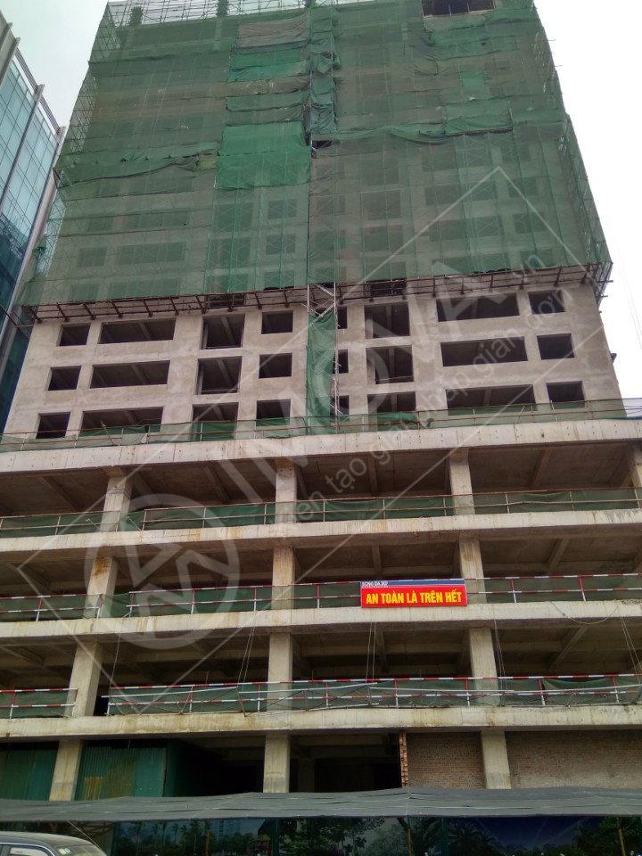 Tiến độ dự án chung cư Hoàng Cầu