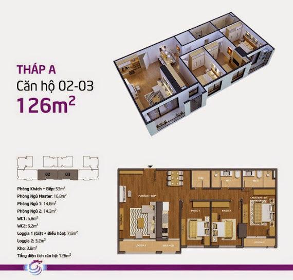 Thiết kế Hong Kong Tower A02-A03