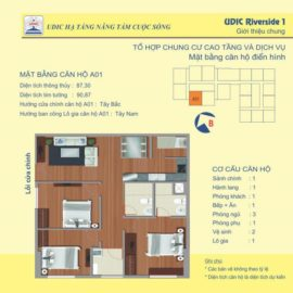 Thiết kế căn A1 chung cư 122 Vĩnh Tuy