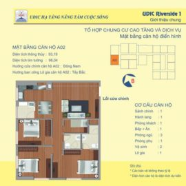 Thiết kế căn A2 chung cư 122 Vĩnh Tuy