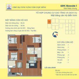 Thiết kế căn A3 chung cư 122 Vĩnh Tuy