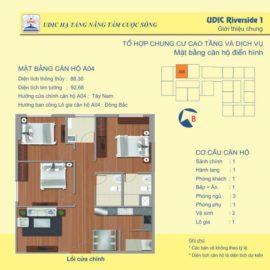 Thiết kế căn A4 chung cư 122 Vĩnh Tuy