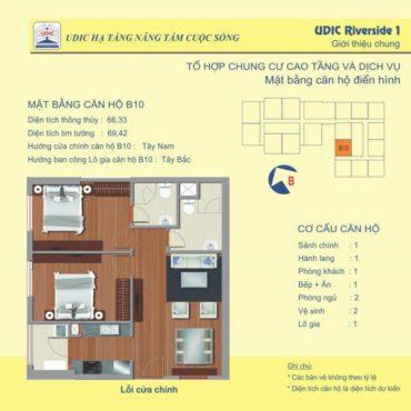 Thiết kế căn B10 chung cư 122 Vĩnh Tuy