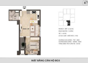 Thiết kế Hong Kong Tower B03