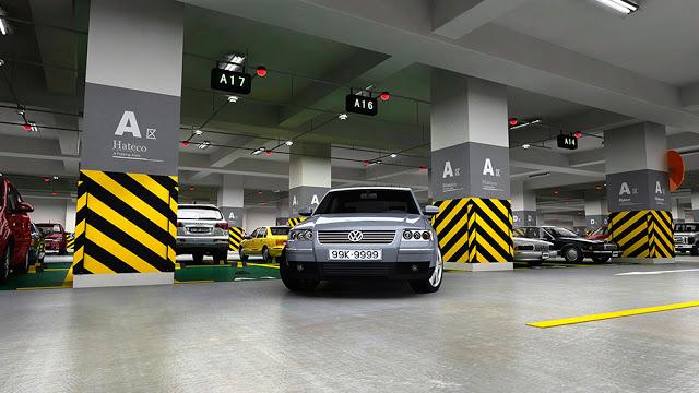 Hầm để xe Hong Kong Tower