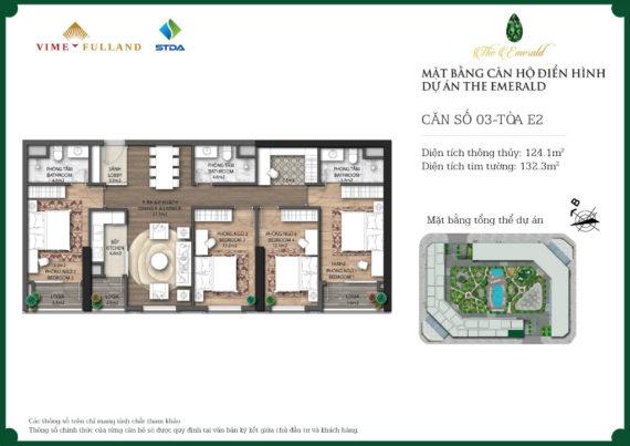 căn 4 ngủ dự án chung cư Ct8 mỹ đình