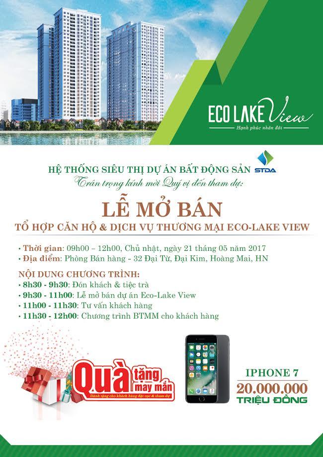 thư mời eco lake view