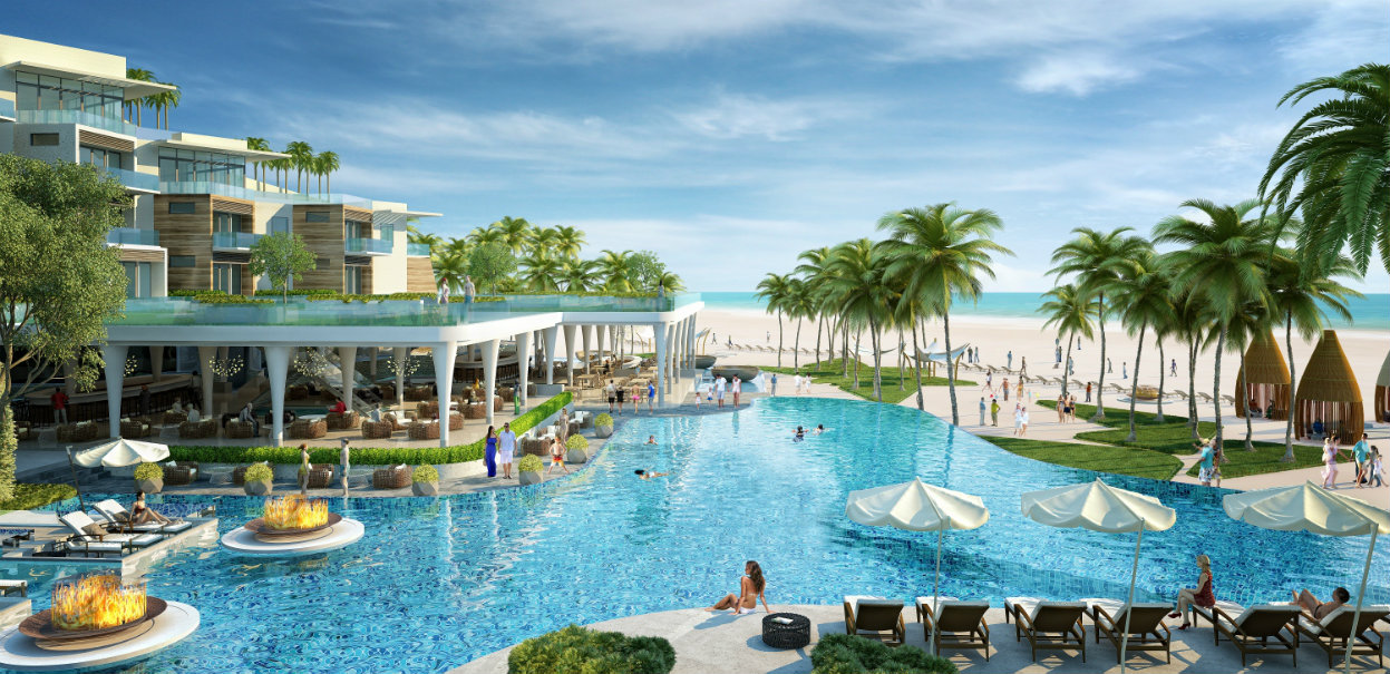 Premier Residences Phu Quoc Emerald Bay phoi canh