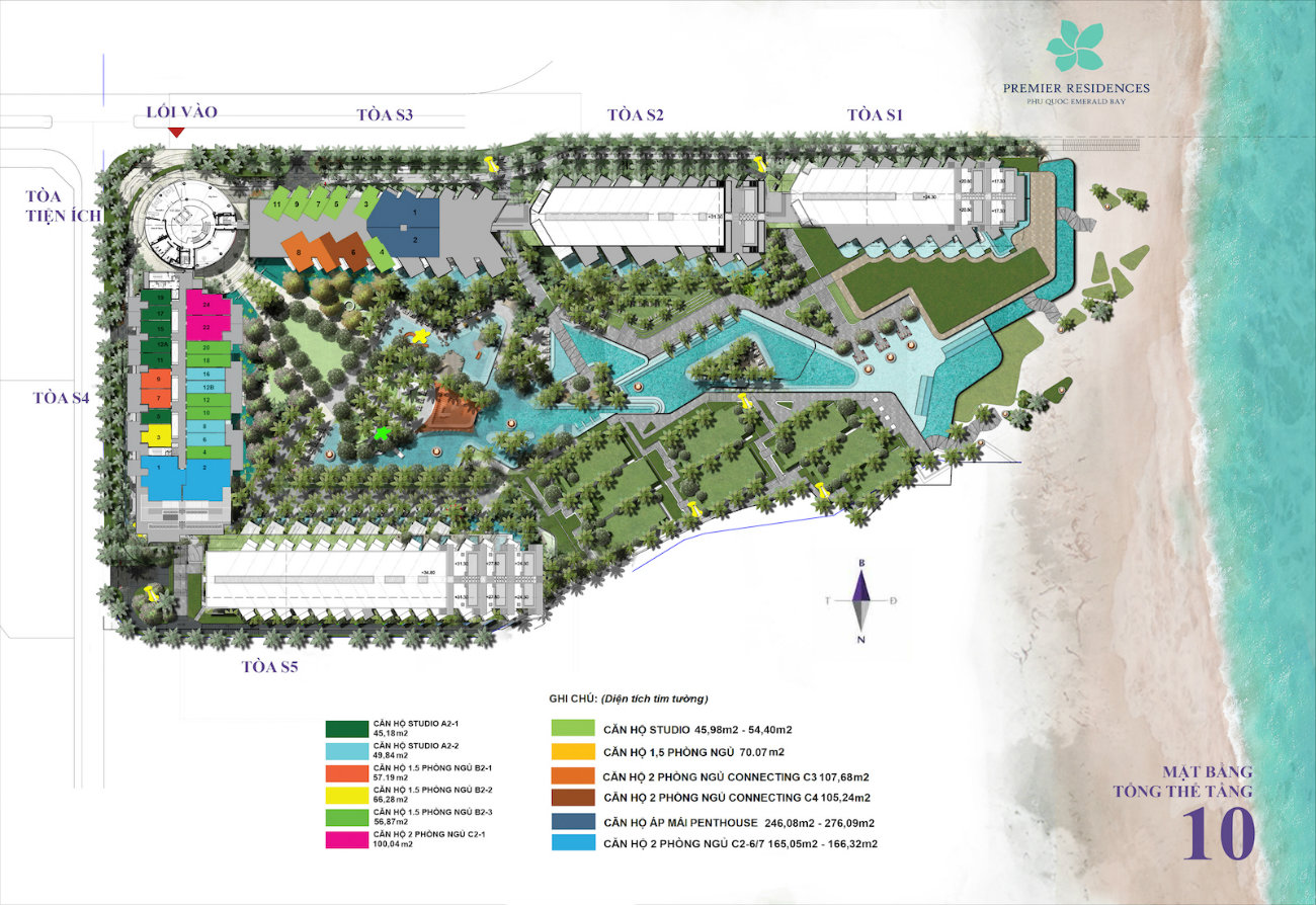 layout-premier-residences-phu-quoc-floor-10
