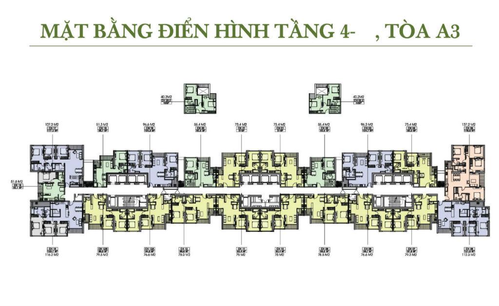 tòa A3 vinhomes gardenia my đình