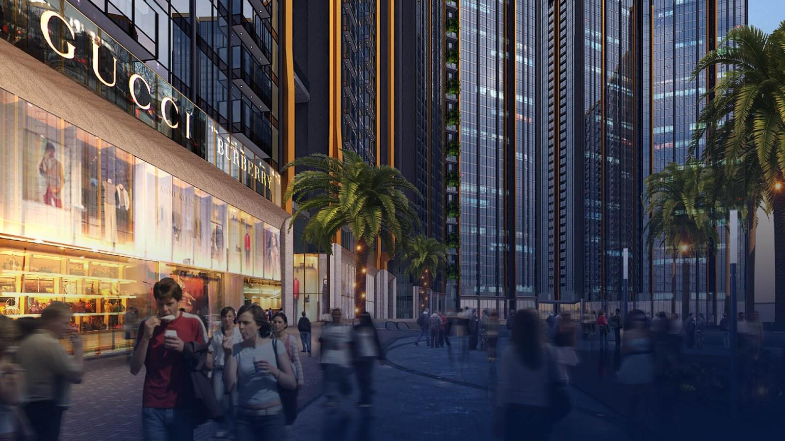 chung cư sunshine city trung tâm thương mại
