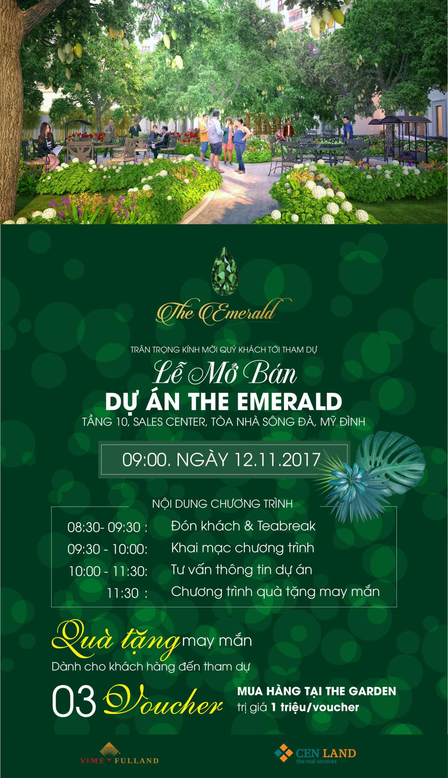 Mở bán CT8 The Emerald Mỹ Đình