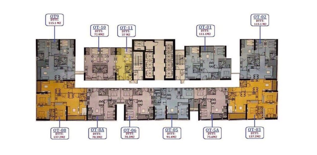 Khối nhà N01 Vinhomes West Point