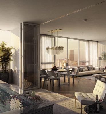 Thiết kế căn hộ Manhattan