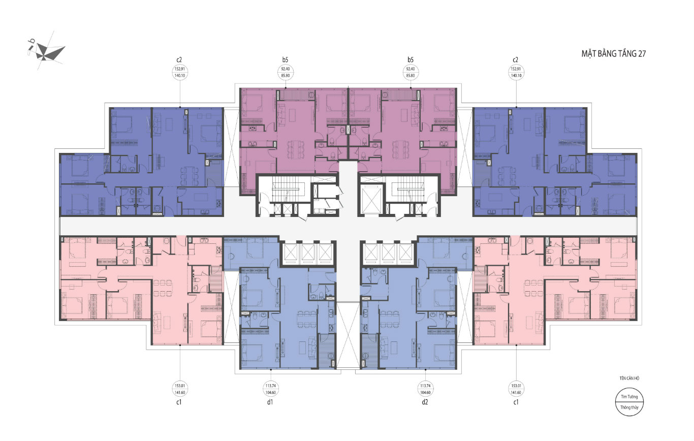 thiết kế căn hộ D'. El Dorado Phú Thanh