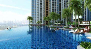 Bể bơi chân mây BRG Park Residence