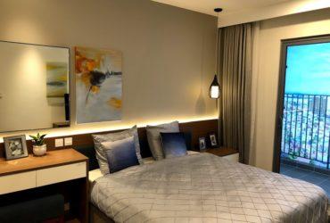 nhà mẫu chung cư Kosmo 2 ngủ phòng ngủ