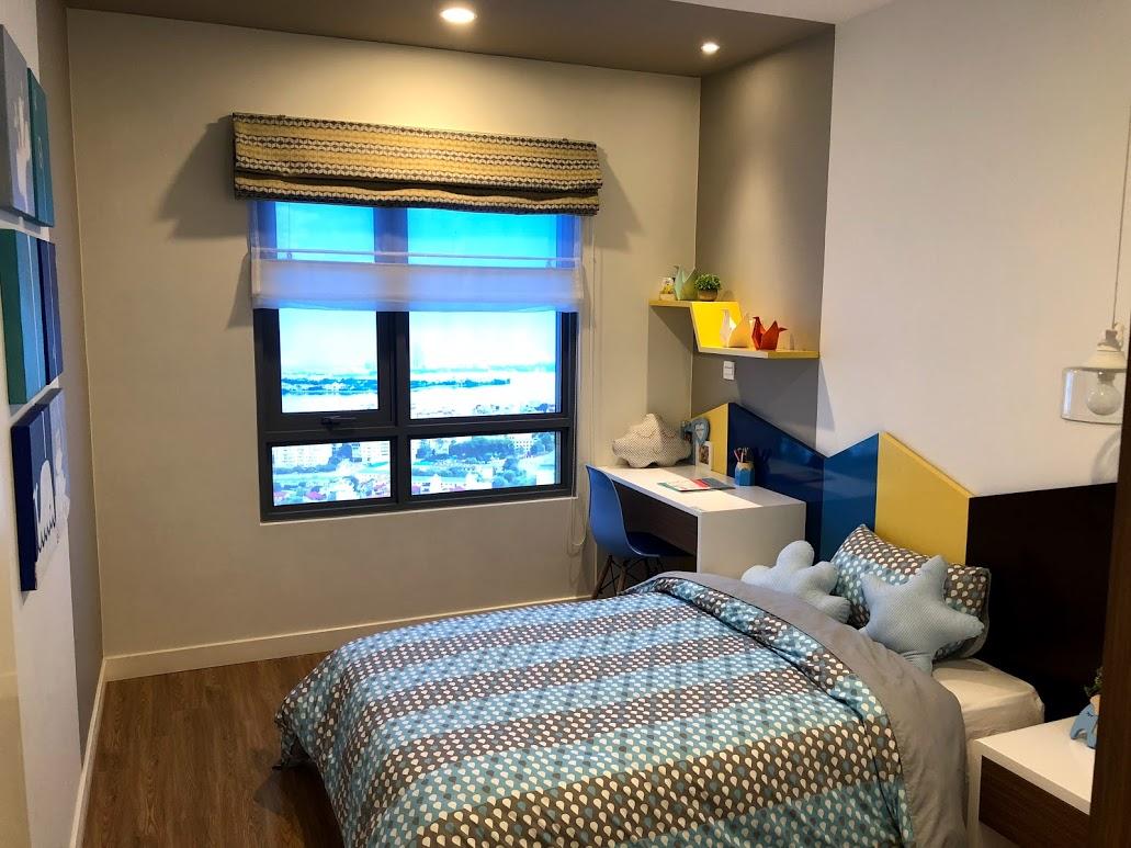 nhà mẫu chung cư Kosmo 2 ngủ phòng ngủ trẻ em