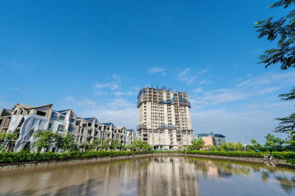 Chung cư HH4 Garden City