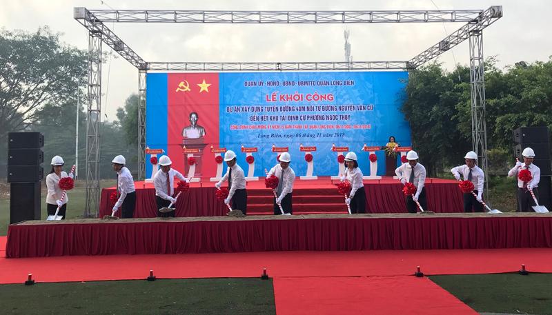 quy hoạch đường Cổ Linh Long Biên dự án One 18