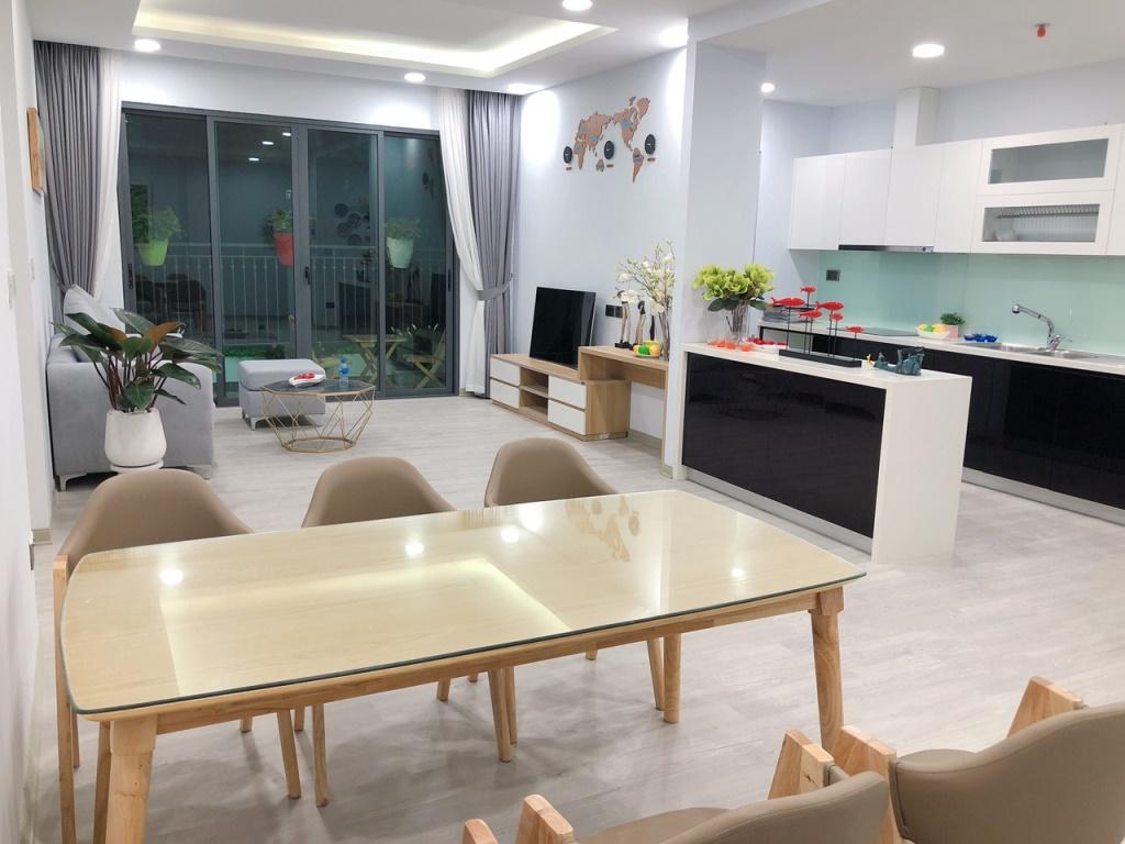 Phòng khách căn hộ One 18