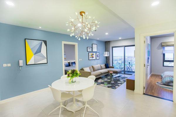 Thiết kế căn hộ Kosmo theo kiến trúc mở