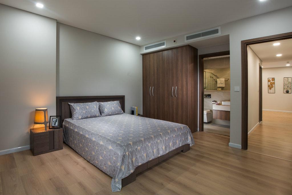 nhà mẫu chung cư riverapark phòng ngủ