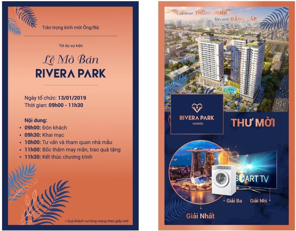sự kiện mở bán Rivera Park Tết Kỷ Hợi