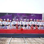 Buổi lễ cất nóc dự án Iris Garden Trần Hữu Dực
