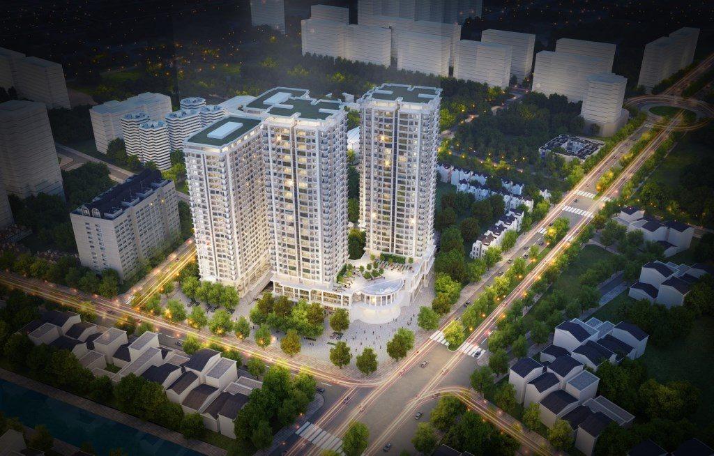 Phối cảnh dự án Iris Garden Trần Hữu Dực