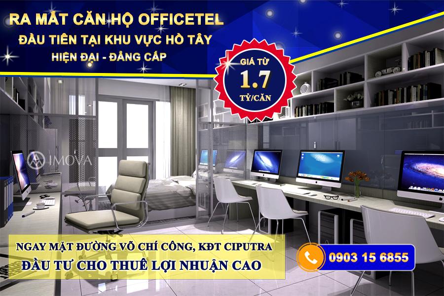 Ra mắt Officetel Võ Chí Công
